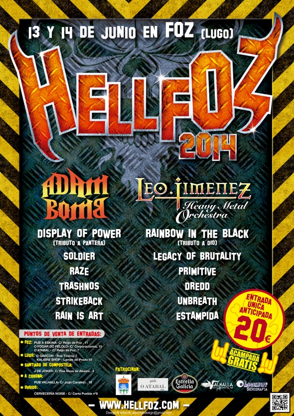 Cartel A3 Hellfoz 2014