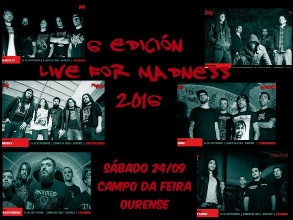 Live For Madness